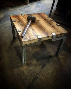 diy wood projects for home. The best and most unique coffee table designs. The design of a cup of coffee is very influential on the sensation of enjoying coffee. Welded Furniture, Steel Furniture, Industrial Furniture, Rustic Furniture, Diy Furniture, Furniture Design, Furniture Outlet, Discount Furniture, Reclaimed Wood Furniture