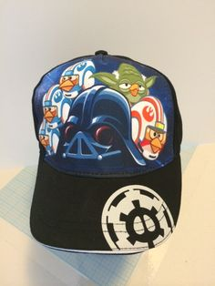 Angry Birds Star Wars Boy's Baseball Cap Hat - Personalized
