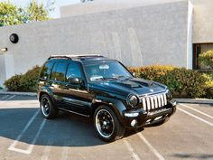 The December 2005 Readers' Rides include a 2004 Chevy Blazer Xtreme, a 2004 Jeep Liberty Limited, a 1989 Nissan and more custom sport trucks, at Sport Truck Magazine. Jeep Liberty Lifted, 2005 Jeep Liberty, Jeep Liberty Sport, Jeep Wj, Custom Jeep, Custom Trucks, Cherokee Sport, Sport Truck, Jeep Mods