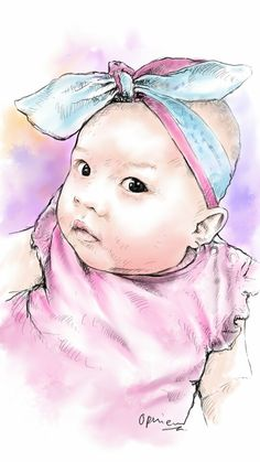 Baby girl..by ophie