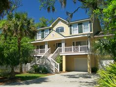 Private Homes Vacation Rental - VRBO 111943 - 4 BR North Forest Beach House in SC, Lovely 4 Bedroom Home-Veranda and Pool-1 Nighthawk-100 Ya...