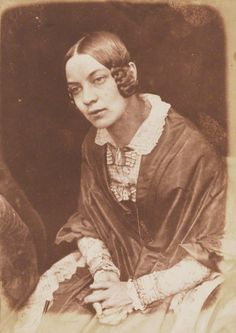 1843-1848 - Matilda Smith (née Rigby) by David Octavius Hill, and Robert Adamson