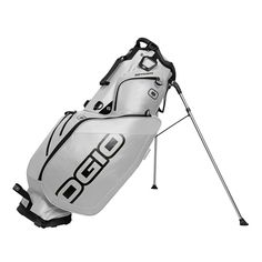 These stylish looking mens Gotham golf stand bags by Ogio provide a 9 inch holster performance top with side-putter pit and integrated handle Golf Stand Bags, Ladies Golf Bags, Golf Outing, Golf Accessories, Mens Golf, Golf Shoes, Gotham, Golf Clubs, Stuff To Buy
