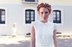 MARTHA PETERS 2016 Los peinados de Eva Pellejero para la nueva colección de vestidos de novia. Recogidos con trenzas, tocados, diademas... Maquillaje de novia