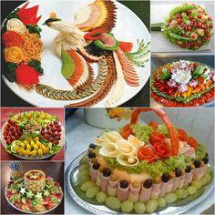 Fab Ideas on Food Art Presentation tutorial and instruction. Follow us: www.facebook.com/fabartdiy