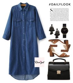 """""""ROSEGAL III / 12"""" by anja-jovanovich ❤ liked on Polyvore featuring Kate Spade, CLUSE and Kershaw"""