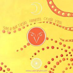 El 🌞 en ♈️  y la 🌙  en ♈️   - LUNA NUEVA EN ARIES -    🌙  Soy lo que Deseo. Honesto. Crudo. Vital. 🌙    La Luna simboliza el afecto que nutre y estabiliza tu Deseo.  Animate a contarte qué deseás.  Aventurate a descubrir toda la potencia que te habita.  Sé protagonista de tu Vida.  El Amor incondicional que simboliza la Luna te constituye, te cuida.  Podés lograr que tu Deseo defina tu realidad.    Cree en vos, aún cuando tengas miedo.