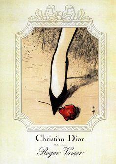 For Roger Vivier (for Christian Dior)