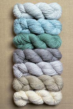 purl soho | products | sea glass | yarn for super easy crib blanket in super soft merino (purl soho)