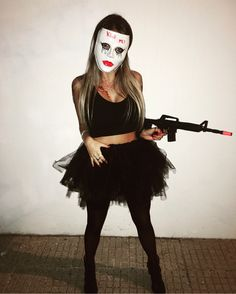 Halloween Costumes Women Scary, Cute Costumes, Halloween Party Costumes, Halloween Cosplay, Halloween Outfits, Costume Clown, Halloween Pics, Halloween Masks, Halloween Kleidung