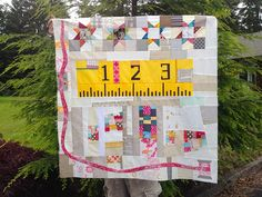 The Traveling Quilts Bee - Round 5 by Happy Zombie, via Flickr