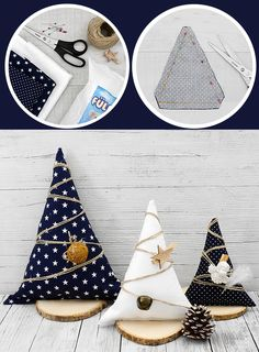 Diy Christmas Ornaments, Christmas Holidays, Christmas Decorations, Xmas, Sewing Projects For Beginners, Projects To Try, Macrame Knots, Handmade, Weihnachten Diy