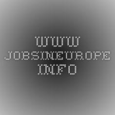 www.jobsineurope.info