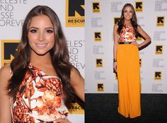 Olivia's styling here is flawless!  This colour is stunning on her :D / Miss USA 2012 Olivia Culpo attends the 'Celeste And Jessie Forever' New York Premiere at Sunshine Landmark on August 1, 2012 in New York City  attends the 'Celeste And Jessie Forever' New York Premiere at Sunshine Landmark on August 1, 2012 in New York City