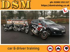 Pass your motorcycle test and join 100's of other successful Omagh students who we have trained and helped pass their motorcycle driving test. We provide Car, Motorcycle, Car & Trailer training to DVA test standard. ADI approved instructor Omagh, Co. Tyrone.