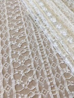 High Quality!!10 Yards Off-White Beaded Lace Fabric,Smooth Lace Fabric,Bridal Veil Lace,Bridal Dres,French Lace Houte Couture Fabric,