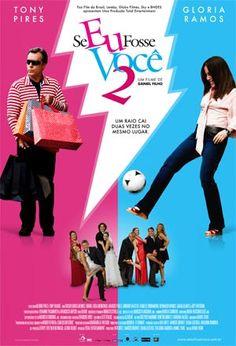 Sim, eu adooooooooooro filme brasileiro e de comédia melhor ainda!!