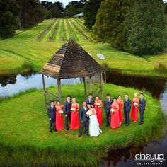How about a wedding photography from a bird's eye? Check out this trending Drone photography, We are sure you would want to add this to your D Day!  #CineyugCelebrations #WeddingPlanners #DronePhotography