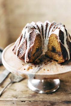 Pumpkin Cake! A perfectly dense cake with a crunchy sweet brown sugar streusel. YUM! | pinchofyum.com