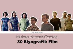 Film Öneri || Mutlaka İzlemeniz Gereken 30 Biyografik Film