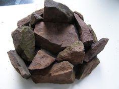 Evil geocache, made of small rocks