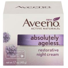 Nourish your skin for a younger and healthier looking complexion with Aveeno Absolutely Ageless Restorative Night Cream. Absolutely Ageless Restorative Night Cream helps improve the appearance of fine lines and wrinkles, while deeply nourishing dry skin. Best Night Cream, Anti Aging Night Cream, Best Anti Aging Creams, Aveeno Absolutely Ageless, Aveeno Active Naturals, Skin Tightening Cream, Cream Bedding, Face Treatment, Signs
