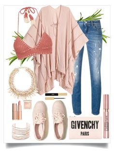 """""""Senza titolo #6586"""" by waikiki24 on Polyvore featuring moda, Dolce&Gabbana, SHE MADE ME, Givenchy, Hollister Co., Alexis Bittar, Yves Saint Laurent, L'Oréal Paris e Jouer"""