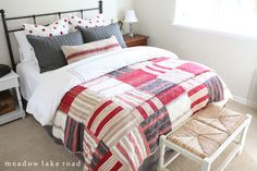 Attractive How To Mix And Match Bedding By Shopping Around | Www.meadowlakeroad.com Pictures