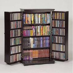 Muebles para organizar tu colección de CDs | Muebles - Decora Ilumina