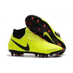 ae1d448188a19 Comprar Botas De Futbol Nike Phantom Vision Elite DF FG Amarillo Negro Rojo