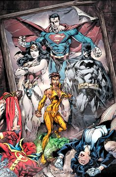 Justice League of America by Mark Bagley