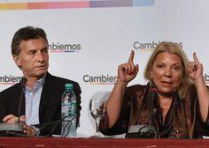 NOTICIAS VERDADERAS: CARRIÓ MOTORIZA UNA MARCHA EL MISMO DÍA QUE SE LAN...