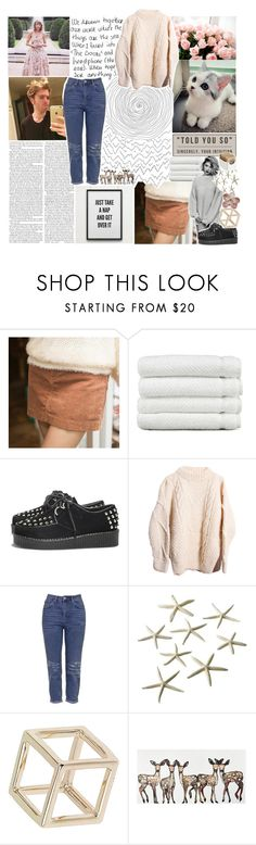 """☾ new york state of mind"" by thundxrstorms ❤ liked on Polyvore featuring moda, Tokyo Fashion, Linum Home Textiles, AX Paris, Topshop, Crate and Barrel, katelyns3kcomp, katelynsday5outfit, gottatagrandomn3ss e MeenaGotTagged"
