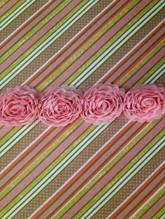 Newborn Girls headbands by SugarSnapBoutiques on Etsy, $5.99