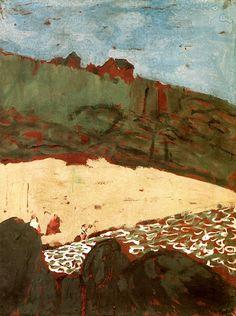 The House on the Dune / Edouard Vuillard - 1909