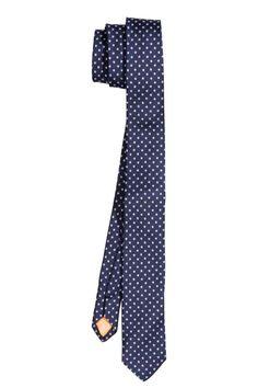 Vzorovaná kravata   H&M #Tie #HM #stars