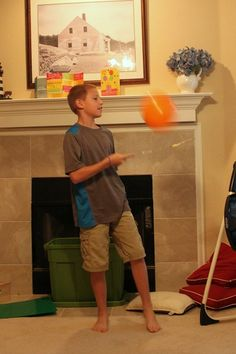 Family Game Night: Minute to Win It One Minute Challenges - Frugal Fun For Boys