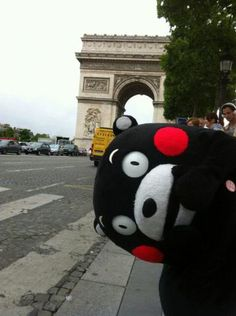 Kumamon in Paris