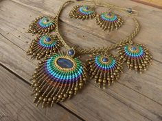 collares+macrame - Google Search