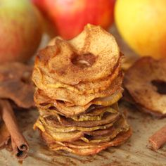 Maple Cinnamon Apple Chips