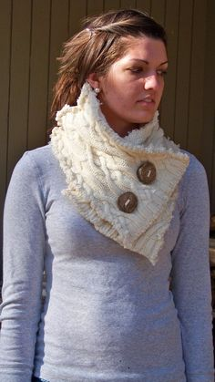 Old Sweater Projects | old sweater= chunky scarf – Sewing Projects | BurdaStyle.com
