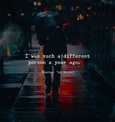 BEST LIFE QUOTES I was such a different person a year ago. Photo by: Bora —via https://ift.tt/2eY7hg4