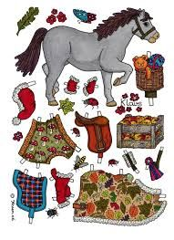 horse paper dolls - Google Search