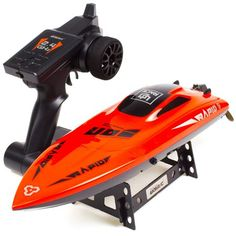 15KM//H Twin Engine Rechargeable RC Radio Remote Control Boat Twin Motor Green