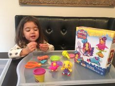 This Play-Doh Hairdresser and Bird set convinces kids to sit still for a long, long time.