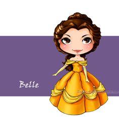 Belle by Sophie-A-Elie.deviantart.com on @deviantART