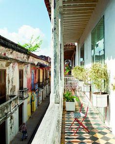 Carthagène, une cité fortifiée au charme inégalé - marieclairemaison.com
