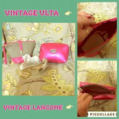 Vintage makeup bags Vintage Lancôme & Vintage ULTA makeup bags EUC, I doubt you will find these anywhere. I have had them for over 20 years, they have been used lovingly and still in EUC Lancome & ULTA Bags Cosmetic Bags & Cases
