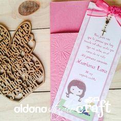 Invitacion primera comunion niña Invitations, Presents