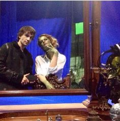 Ouat Rebecca Mader and Christopher gorham